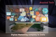 Digital Marketing company in India Aravind Tech Inc.