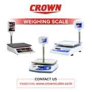 Digital Table Top Weighing Scale for Retail Shops– Crownscales
