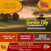 Land for sale near kinathukadavu with affordable EMI options