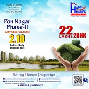 Dtcp approved Plots for sale near marine college myleripalayam