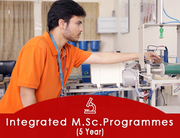 Integrated MSC Programme Admissions 2021. No Entrance Examination