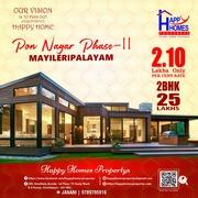 Land for sale at myleripalayam