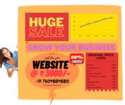 NOW WEBSITE ON 50% OFFER @ ₹3000/-